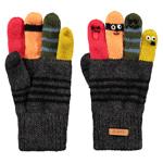 Barts Puppeteer Gloves Anthrazit (Dark Heather)