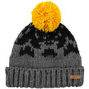 Barts Baigh Beanie grau/schwarz (dark heather)