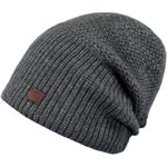 Barts Juliun Beanie grau (dark heather)