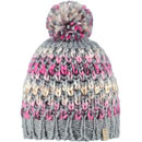 Barts Nicole Beanie grau/rosa (heather grey)