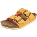 Birkenstock Arizona Kids gelb (saddle curry)