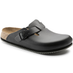 Birkenstock Boston Super Grip Schwarz (Black)