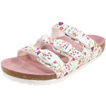 Birkenstock Florida Kids meadow flowers white