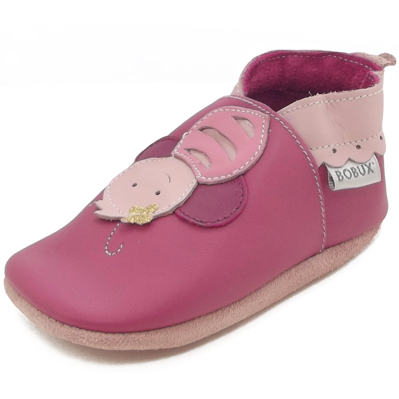 Bobux Bee pink (bright pink)