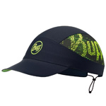 Buff Pack Run Cap XL schwarz (reflektierend/flash logo black)