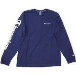 Champion Long Sleeve T-Shirt Mn navy (nny)