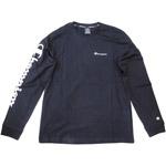 Champion Long Sleeve T-Shirt Mn schwarz (nbk)