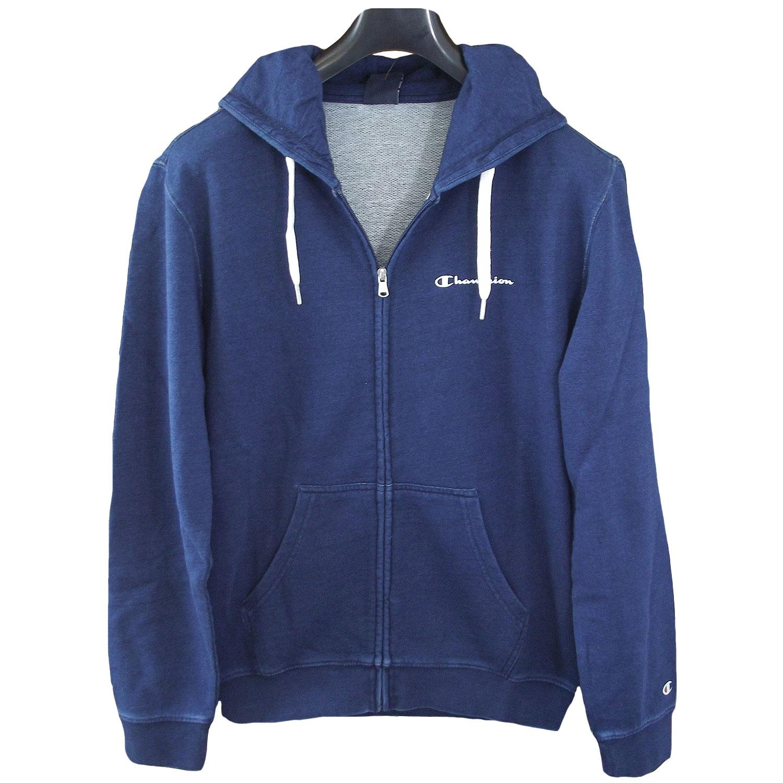 Champion Full Zip Cotton Hoodie dunkelblau (indigo blue)