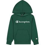 Champion Hooded Sweatshirt Kids Forest Green (HLG)