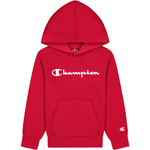 Champion Hooded Sweatshirt Kids Hot Red (HTR)