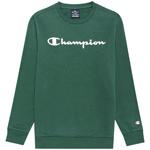 Champion Crewneck Sweatshirt Kids Forest Green (HLG)