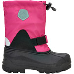 Color Kids Inner Sock Boots Pink Peacock