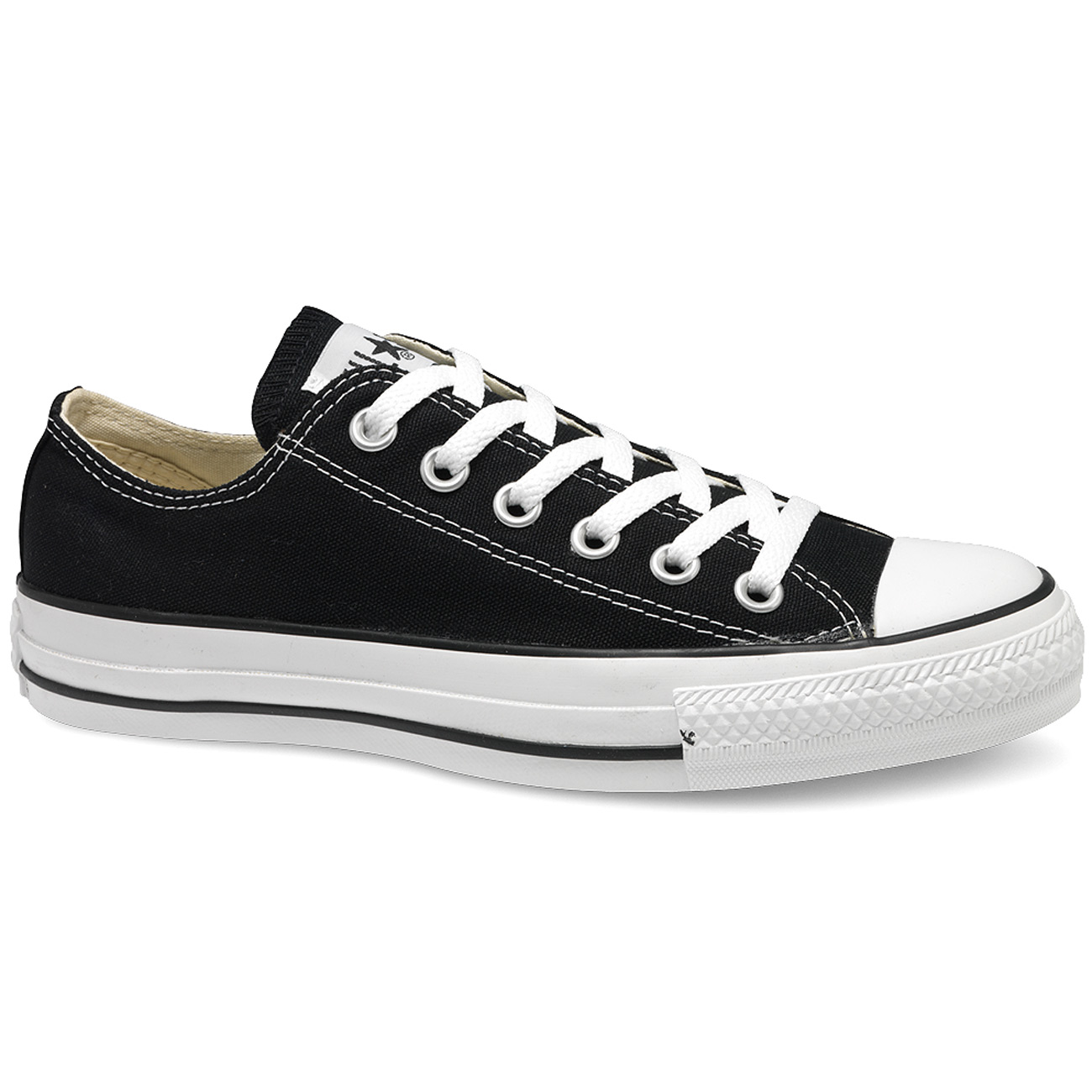 Converse All Star Ox schwarz (black)