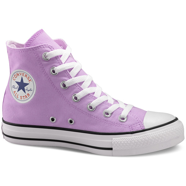 lila converse all star