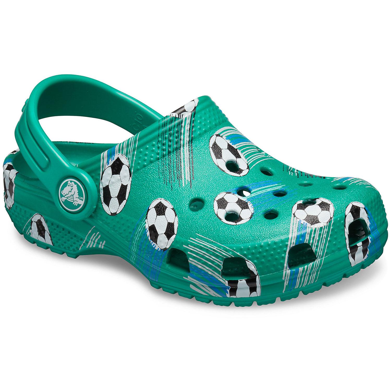 Crocs Classic Sport Ball Kids grün (deep green)