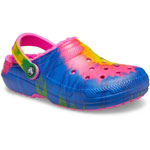 Crocs Classic Lined Tie Dye Electric Pink/Multi