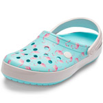 Crocs Crocband Seasonal Graphic ice blue/pink