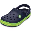 Crocs Crocband Kids dunkelblau/grün (navy/volt green)