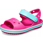 Crocs Crocband Sandal Kids pink/lila (paradise pink/amethyst)