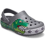 Crocs Fun Lab Dino Band Lights grau (slate grey)