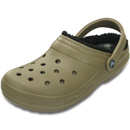 Crocs Classic Lined Pattern khaki/black