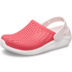 Crocs Literide Kids pink (poppy/white)