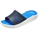 Crocs Literide Slide dunkelblau/weiß (navy/white)