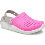 Crocs Literide Kids pink/weiß (electric pink/white)