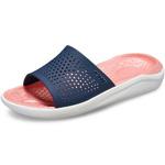 Crocs Literide Slide dunkelblau/melone (navy/melon)