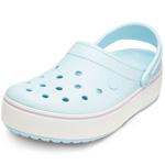 Crocs Crocband Platform hellblau (mineral blue/lavender)
