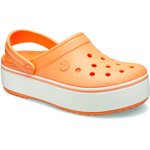 Crocs Crocband Platform cantaloupe/white