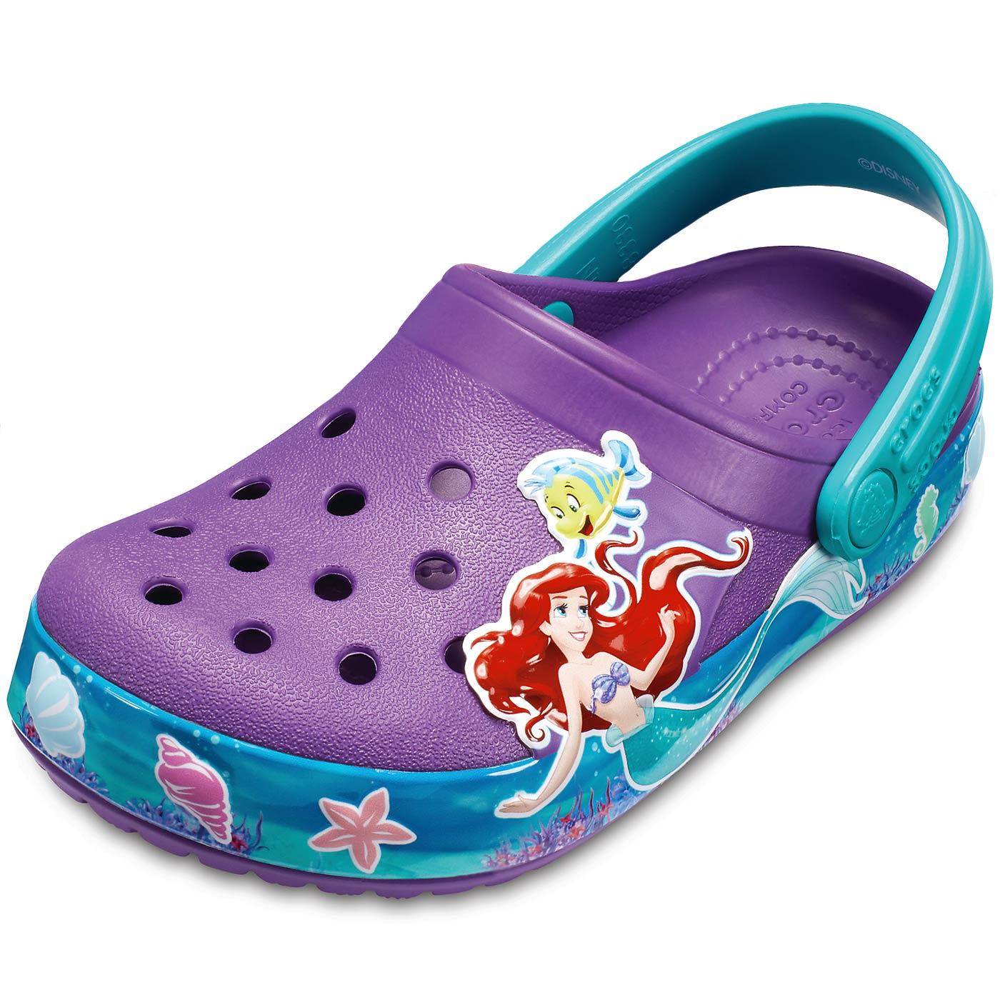 9c9662d0d2f Crocs Crocband Princess Ariel amethyst - Shoes   Accessories