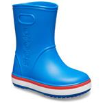 Crocs Crocband Rain Boot Kids Bright Cobalt/Flame