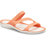 Crocs Swiftwater Sandal W grapefruit/white