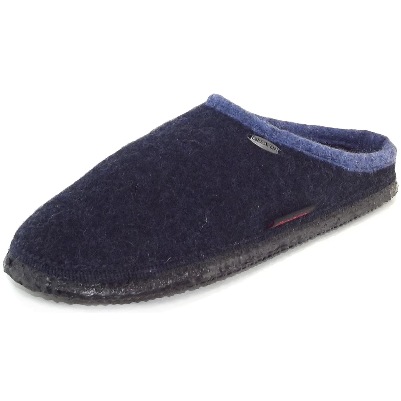 Giesswein Dannheim 32-10-42084-514 Unisex Pantoffeln, nachtblau, Gr. 50