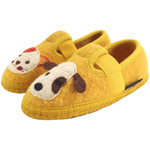 Haflinger Slipper Pets Gelb (Sonne)