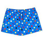 Happy Socks Big Dot Swim Shorts Blau