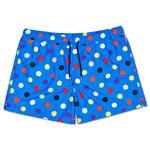 Happy Socks Big Dot Swim Shorts Blau