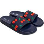 Happy Socks Pool Slider Cherry Dunkelblau