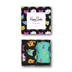 Happy Socks Cat Gift Box 2-Pack mehrfarbig