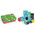 Happy Socks Happy Birthday Kids Gift Box 3-Pack mehrfarbig