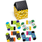 Happy Socks Kids Cats & Dogs Gift Box 4-Pack mehrfarbig
