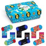 Happy Socks Kids Party Animal Gift Box 3-Pack mehrfarbig