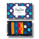 Happy Socks Classic Mix Gift Box 3-Pack mehrfarbig