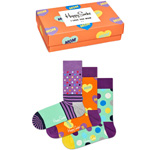 Happy Socks Mother Day Gift Box 3-Pack mehrfarbig