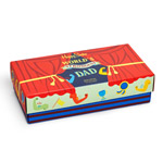 Happy Socks Father Day Gift Set 3-Pack Mehrfarbig