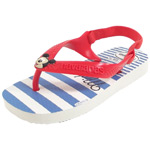 Havaianas Baby Disney Classics weiß/rot (white/strawberry)