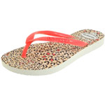 Havaianas Kids Slim Animals white/coral new