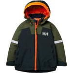 Helly Hansen K Legend Ins Jacket grün/dunkelgrau (scarab green)