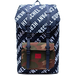 Herschel Little America roll call peacoat/woodland camo
